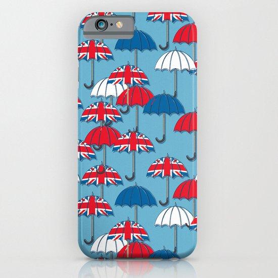 UK Umbrellas iPhone & iPod Case