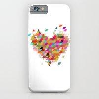Heart1 White iPhone 6 Slim Case