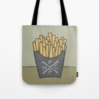 FRENCH FRY HARDCORE Tote Bag