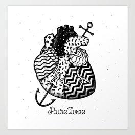 Art Print - Pure Love - Alejandro Giraldo