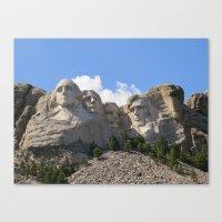 Big Heads Canvas Print