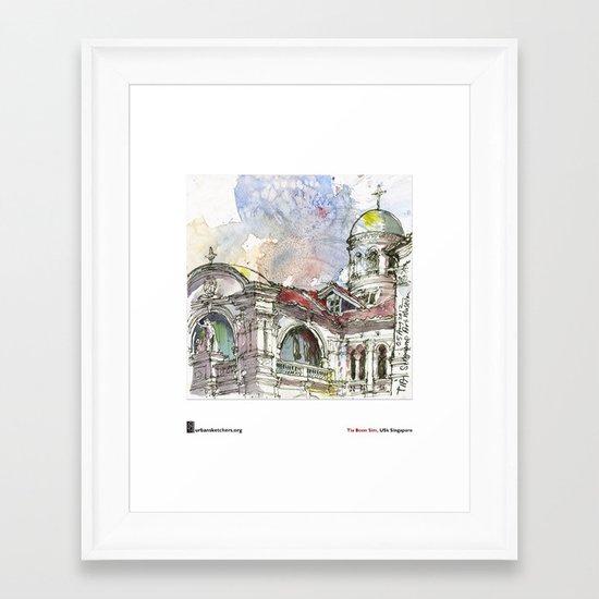 "Tia Boon Sim, ""The Singapore Art Museum"" Framed Art Print"