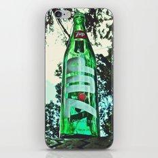Classic soda bottle iPhone & iPod Skin