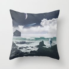 Le Voyage Throw Pillow