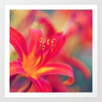 Life Is A Flower Nature … Art Print
