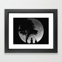 SLEEP WALKER Framed Art Print