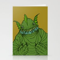Dagon wants a hug Stationery Cards