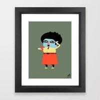 Doris (Alt) Framed Art Print