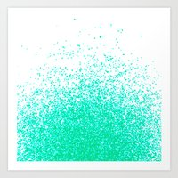 fresh mint flavor Art Print