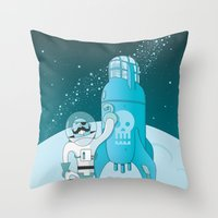 Space Pirate! Throw Pillow