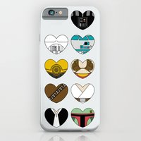 Character Hearts iPhone 6 Slim Case