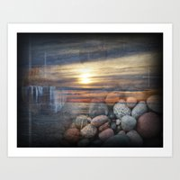 Lake Superior Memories Art Print