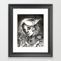 Lady Heartwood Framed Art Print