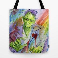 Friend Frankenstein Tote Bag