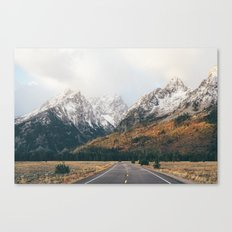 Sunrise Road Canvas Print