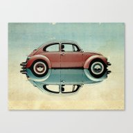 Canvas Print featuring Love Bug by Vin Zzep