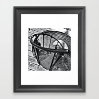Spiral Staircase II Framed Art Print