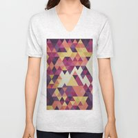 Geometri III Unisex V-Neck