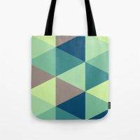 I spy triangles Tote Bag
