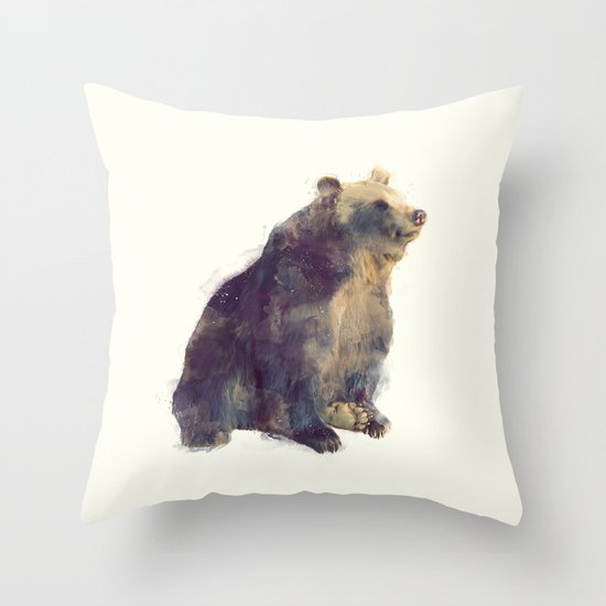 Bear // Nova Throw Pillow