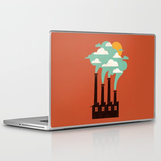 The Cloud Factory Laptop & iPad Skin