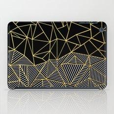 Ab Half And Half Gold iPad Case