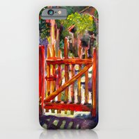 iPhone & iPod Case featuring Red Gate by Claire Filz