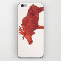 Strawberry Moose iPhone & iPod Skin