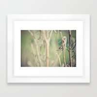 you're pretty when you're dead no.1 Framed Art Print
