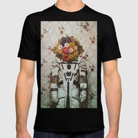 bouquet Mens Fitted Tee Black SMALL
