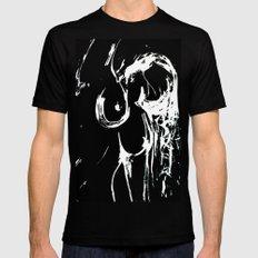 Reach 2 SMALL Black Mens Fitted Tee