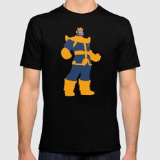 The Overmaster (Thanos) SMALL Black Mens Fitted Tee