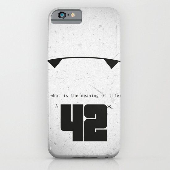 The Hitchhiker's Guide to the Galaxy iPhone & iPod Case