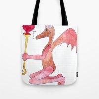 demon love Tote Bag