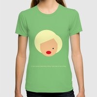 FC-Monroe Womens Fitted Tee Grass SMALL