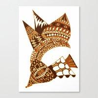 Sea Shell Creature 2 Canvas Print
