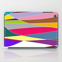 Abstract Lines & Color iPad Case
