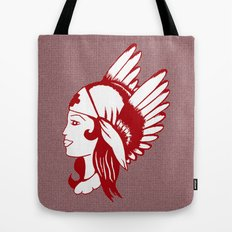 Angel of Mercy, Traditional American Tattoo Design Tote Bag