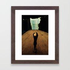 Tu lo sai che dimensione hai? Framed Art Print