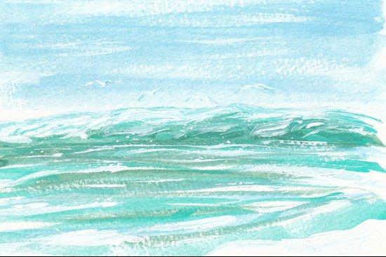 """""""Seagull Serenade"""" Art Print"""