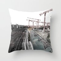 Paris D'avenir 6 Throw Pillow