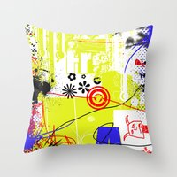 Art Is Freedom Throw Pillow