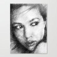 Mira Canvas Print