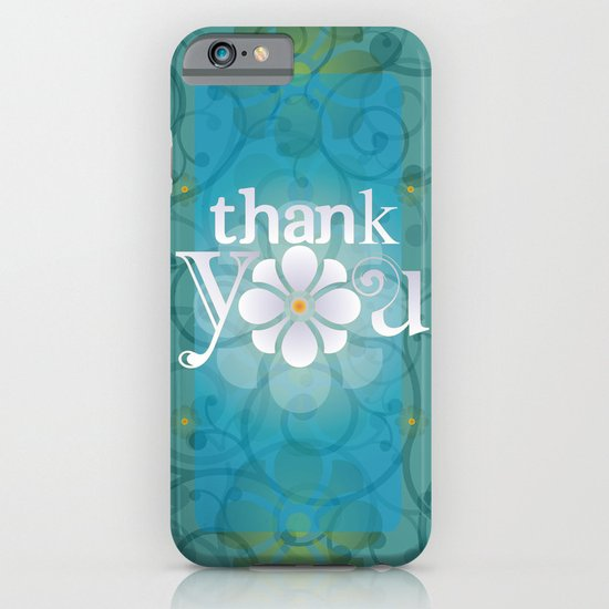 THANK YOU iPhone & iPod Case