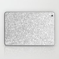 1000 imaginary friends and one bear Laptop & iPad Skin