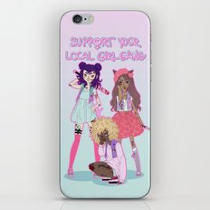 Support Your Local Girl … iPhone & iPod Skin