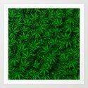 Weed. Art Print
