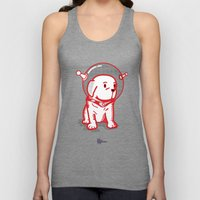 Space Puppy Unisex Tank Top