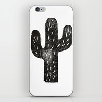 Stamped Cactus iPhone & iPod Skin