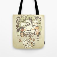 Bunnies And Carrots In T… Tote Bag